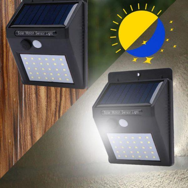 outdoor solar light motion sensor